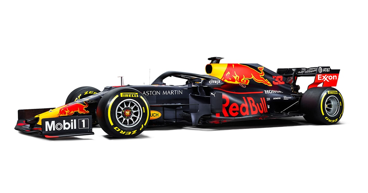 Aston Martin Red Bull Racing F1 Team Official Partner Mobil Motor Oils